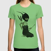 Odi Et Amo Womens Fitted Tee Grass SMALL