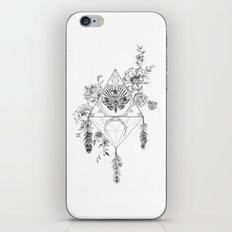 Death's Head Hawk Moth Totem iPhone & iPod Skin