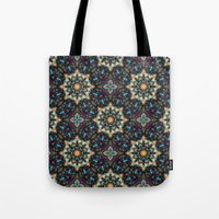 Abstract Cathedral Kalei… Tote Bag