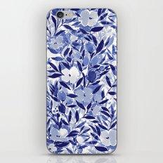 Nonchalant Indigo iPhone & iPod Skin