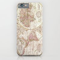 iPhone & iPod Case featuring An Accurate Map by Catherine Holcombe