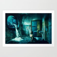 The Leak Art Print