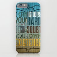 iPhone & iPod Case featuring I can ignore you by Michael Tesch