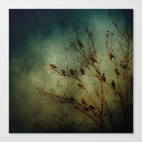 Bird Tree Canvas Print
