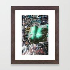 Collide 12 Framed Art Print
