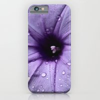 iPhone & iPod Case featuring Color my Garden Purple by MistyAnn