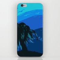 The tree blows at night iPhone & iPod Skin