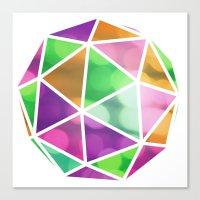 vivid dodecahedron Canvas Print