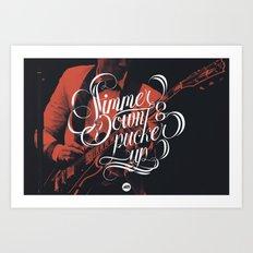 Simmer Down Art Print