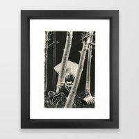 Oyster Boy - Tim Burton Framed Art Print