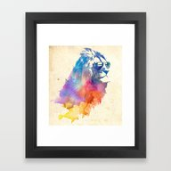 Framed Art Print featuring Sunny Leo   by Robert Farkas