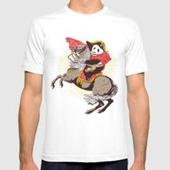 The Panda's Ride  Mens Fitted Tee White SMALL