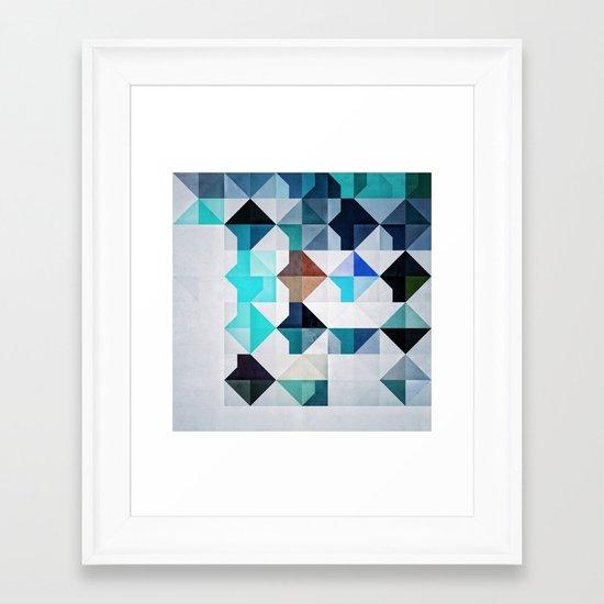 Whyyt1 Framed Art Print