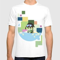 WPAP Mens Fitted Tee White SMALL