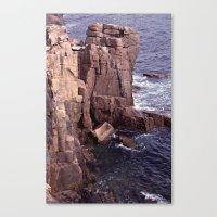 Acadia National Park Rocky Shoreline Canvas Print