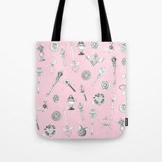Sailor Moon Flash - Pink Tote Bag