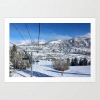 Summit Express Art Print