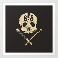 Born To Hate In '88 Art Print