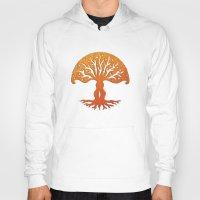 Tree of Life Woodcut Hoody