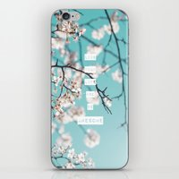 Live Your Life and Be Awesome iPhone & iPod Skin