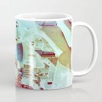 Santorini In Raspberry A… Mug