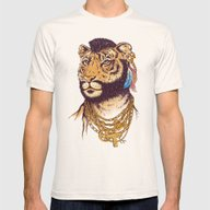 Mr. T(iger) Mens Fitted Tee Natural SMALL