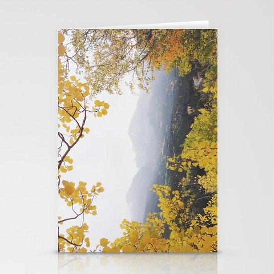Fall Frame Stationery Card