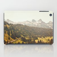 Road through the Mountains iPad Case