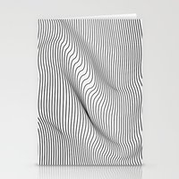 minimal Stationery Cards featuring Minimal Curves by Leandro Pita