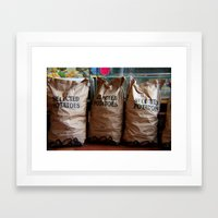 Spuds!  Framed Art Print