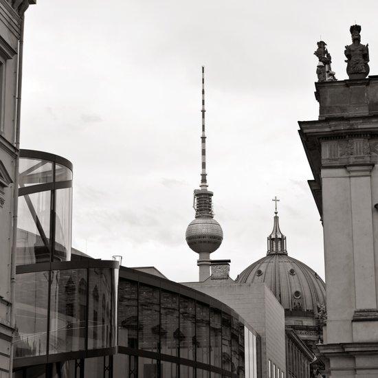 Deutsches Historisches Museum - Teletower - German Dome - Berlin Art Print