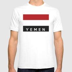 yemen flag White SMALL Mens Fitted Tee
