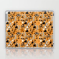 Monster March (Orange) Laptop & iPad Skin