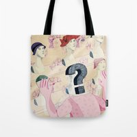 It's All In Your Head. Q… Tote Bag