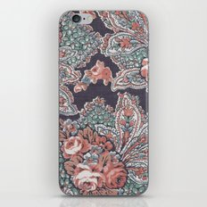 Vintage Floral Pattern iPhone & iPod Skin