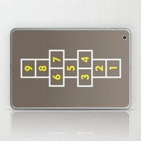 Hopscotch Brown Laptop & iPad Skin