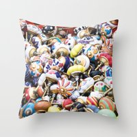 Turkish Door Knobs Throw Pillow