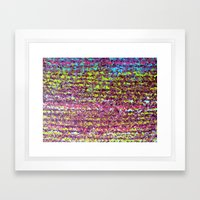 Fuzzy Sweater I Framed Art Print