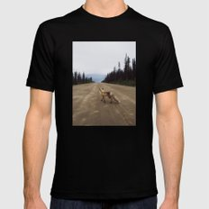 Road Fox Mens Fitted Tee Black SMALL