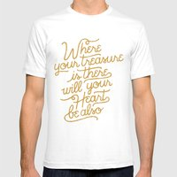 Treasure Mens Fitted Tee White SMALL
