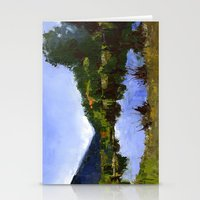 Reflections On The Pond Stationery Cards