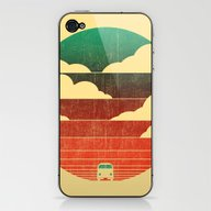 iPhone & iPod Skin featuring Go West by Budi Kwan