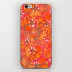 Watercolor Oranges iPhone & iPod Skin