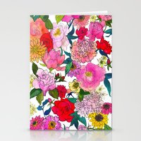 Peonies & Roses Stationery Cards