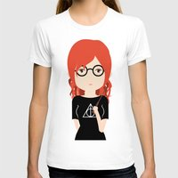 harry potter T-shirts featuring Fan Girl Harry Potter by Creo tu mundo