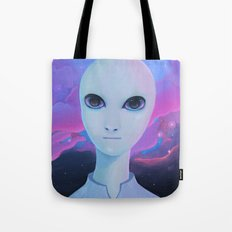 Alien - Extraterrestrial Biological Entity #1 (EBE#1) Tote Bag
