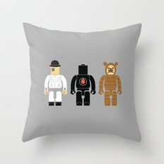 Kubricked Throw Pillow