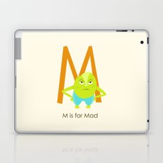 M is for Mad Laptop & iPad Skin