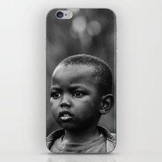 Child in Rwanda iPhone & iPod Skin