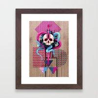 BeautifulDecay II Framed Art Print